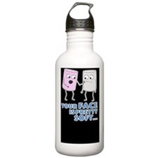 mm-D2-Buttons Sports Water Bottle