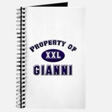 Property of gianni Journal