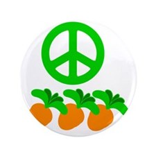 """PeaceCarrot copy 3.5"""" Button"""