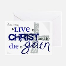 toliveischrist Greeting Card