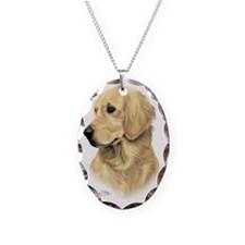 Golden Retriever 3 Necklace