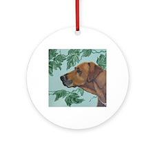 MOUSERhodesian Ridgeback Round Ornament