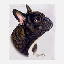 French Bulldog Throw Blanket