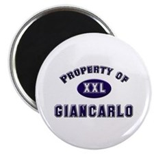 Property of giancarlo Magnet