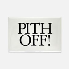 Pith Off! Rectangle Magnet