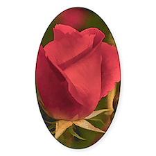 RoseFramedRed_5X7 Decal