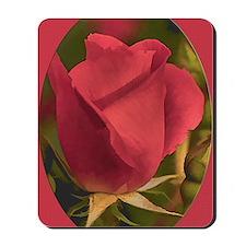 RoseFramedRed_5X7 Mousepad
