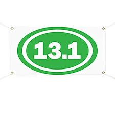 13.1 Green Oval True Banner