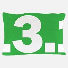 13.1 Green Oval True Pillow Case
