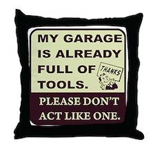 Tool Throw Pillow