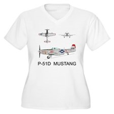 Mustang_BuckeyeBl T-Shirt