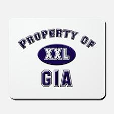 Property of gia Mousepad