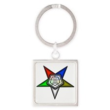 oes4 Square Keychain