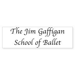 JG SCHOOL OF BALLET Bumper Bumper Sticker