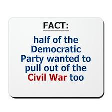 Civil War, Iraq War Mousepad