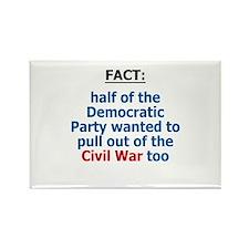 Civil War, Iraq War Rectangle Magnet