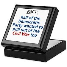 Civil War, Iraq War Keepsake Box