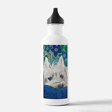 Westie5x7V Water Bottle