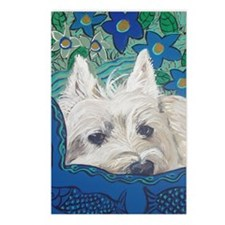 Westie5x7V Postcards (Package of 8)