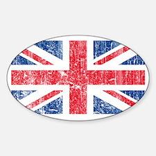 UK Sticker (Oval)