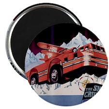Snow Cruiser 2000x2000 Magnet