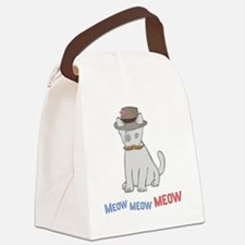 Mittens-D1-iPad2Case Canvas Lunch Bag