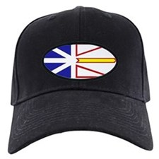 Newfie Flag Clear.gif Baseball Hat