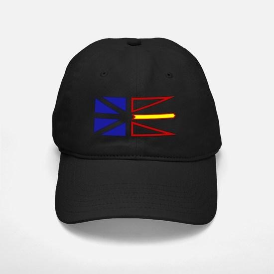 Newfie Flag Clear.gif Baseball Hat