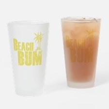 beach bum Drinking Glass