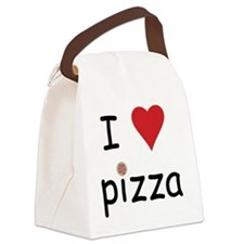 pizza Canvas Lunch Bag