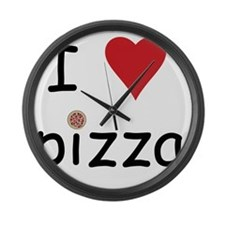 pizza Large Wall Clock