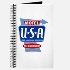 Motel USA Sign Journal