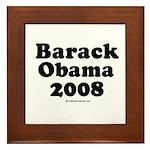 Barack Obama 2008 Framed Tile