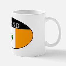 Ireland_Clover and sword_smaller copy Mug