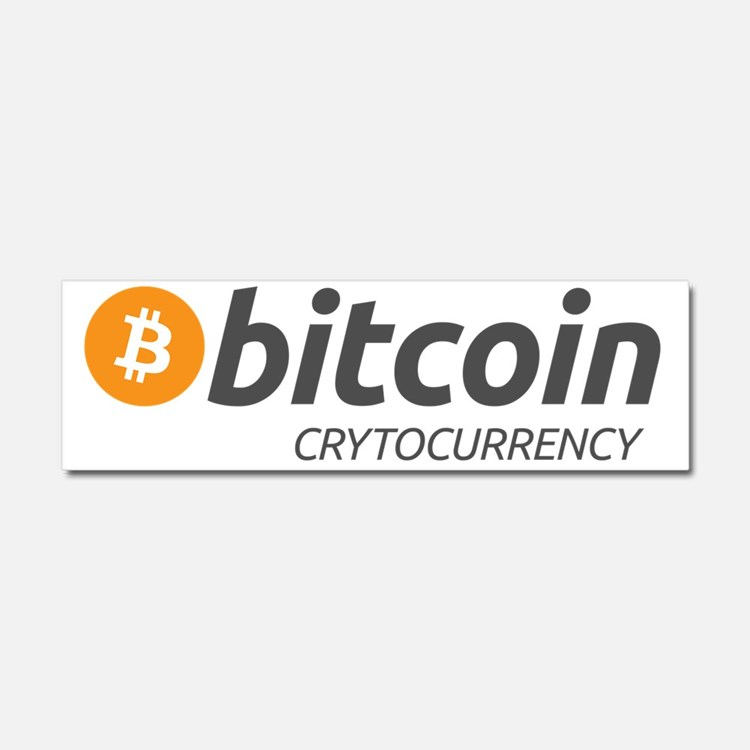 Bitcoin5 Car Magnet 10 x 3