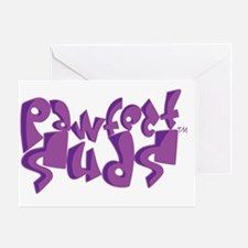 Pawfect_Suds Greeting Card