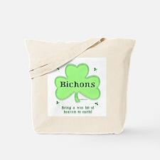 Bichon Heaven Tote Bag