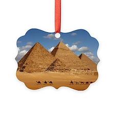 Pyramids of Egypt Ornament