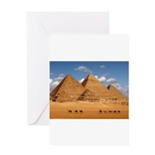 Pyramids of Egypt Greeting Cards