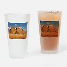 Pyramids of Egypt Drinking Glass