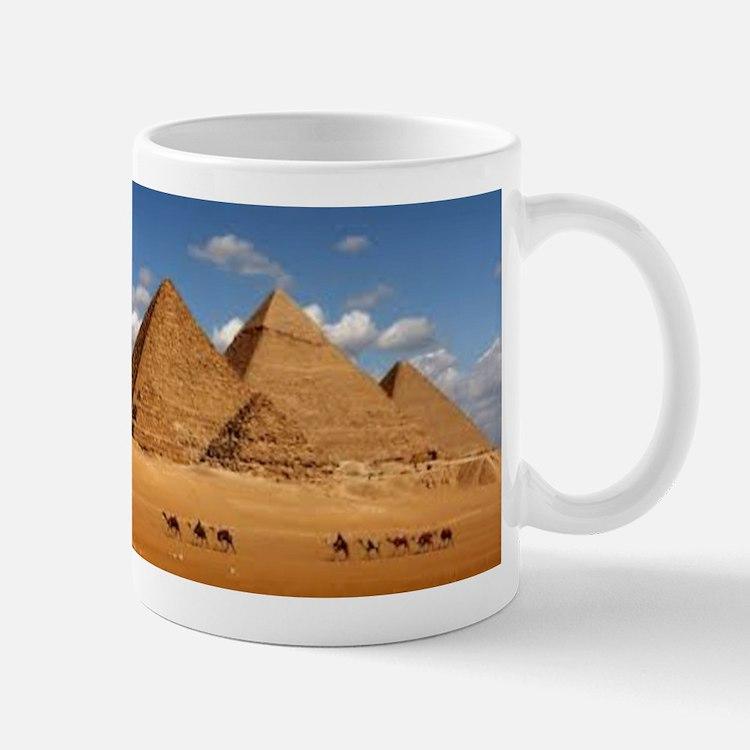Pyramids of Egypt Mugs