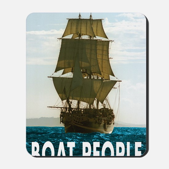 Boat_people Mousepad
