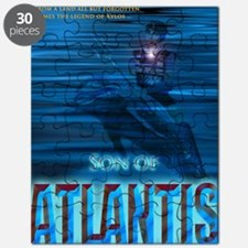 Son of Atlantis Front Cover v4.0 Puzzle