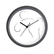 ofoh-large - negative Wall Clock
