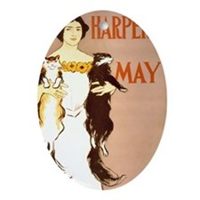 Harpers May Oval Ornament