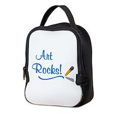 Art Rocks Neoprene Lunch Bag