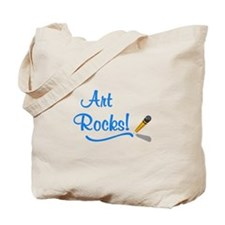 Art Rocks Tote Bag