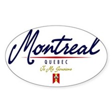 Montreal Script W Decal