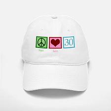 peacelove30wh Baseball Baseball Cap