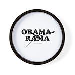 Obama-rama Wall Clock